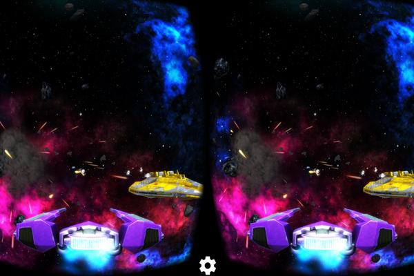 Игра аркада - Deep Space Battle VR