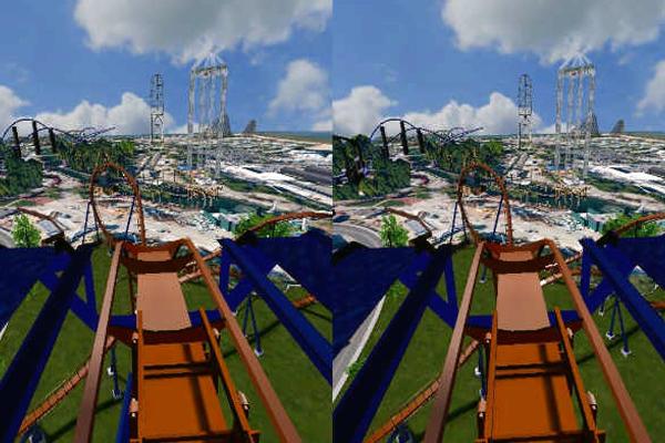 игра виртуальной реальности Сedar point