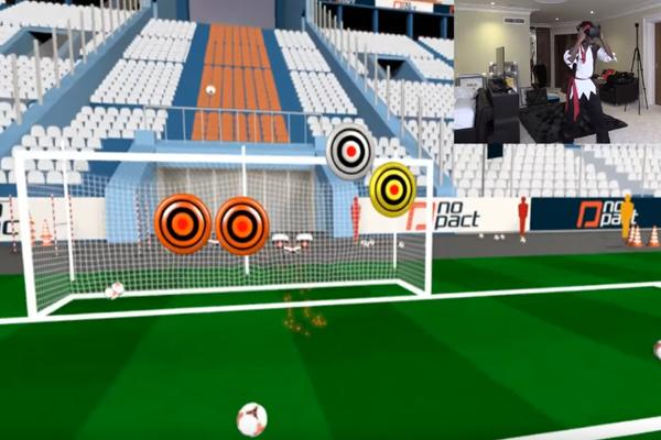 игра Fifa в очках виртуальной реальности