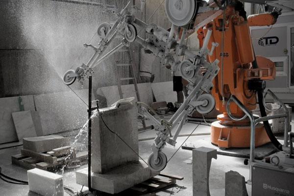 робототехника в строительстве от Odico Formwork Robotics