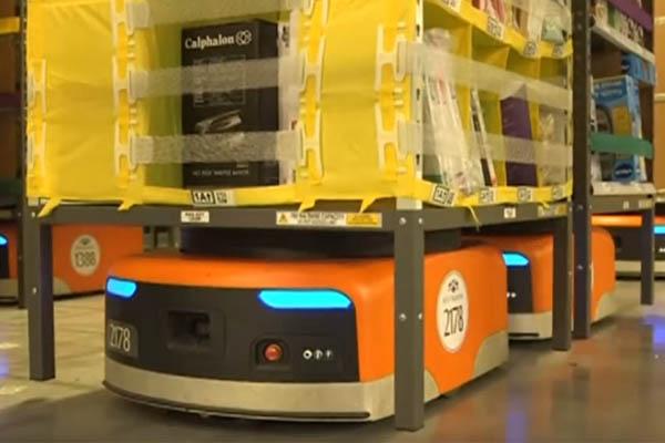 робот Kiva Amazon