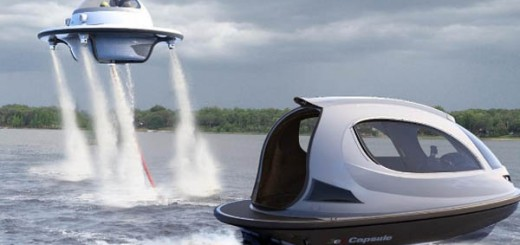 Jet Capsule UFO 2