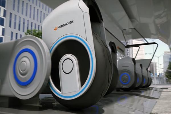 Будущее транспорта начнется с изменения шин