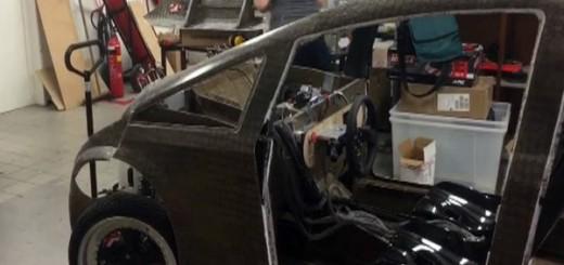 Первый биоразлагаемый автомобиль