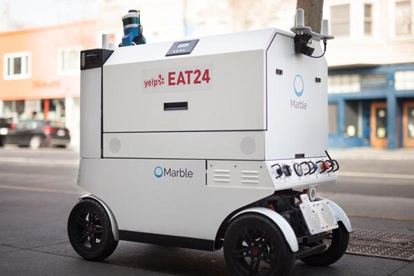 Marble — робот по доставке еды