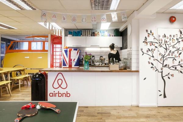airbnb офис