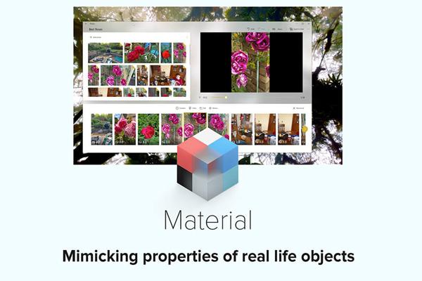 material Fluent Design System