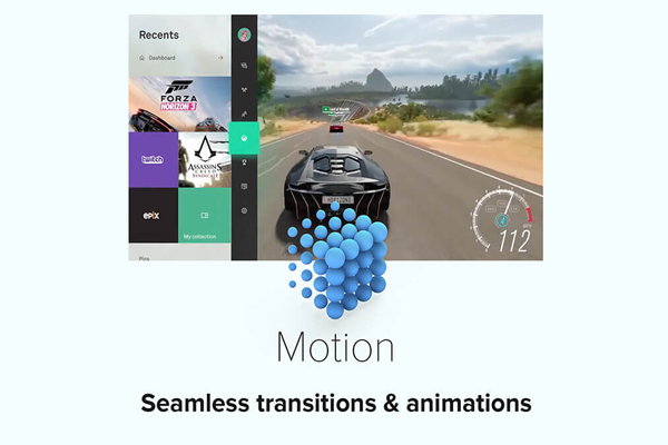 motion Fluent Design System