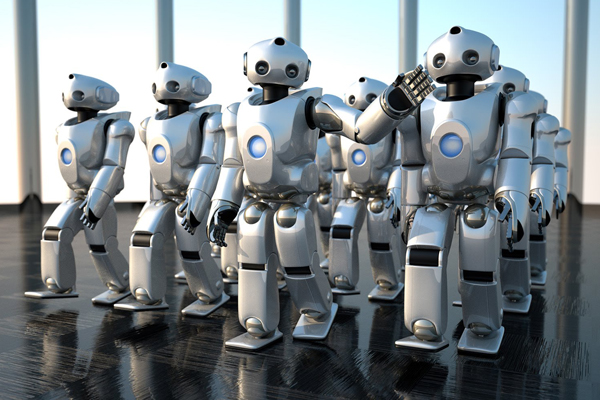 Робот QRIO от Sony