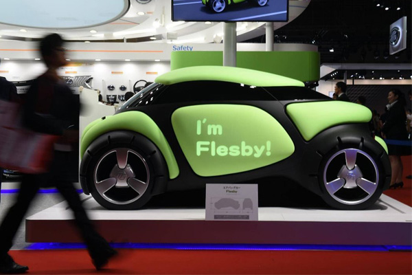 Rubber car Flesby II