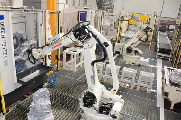 Коммерческие роботы Kawasaki