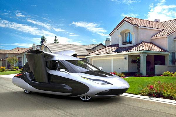 летающий транспорт будущего
