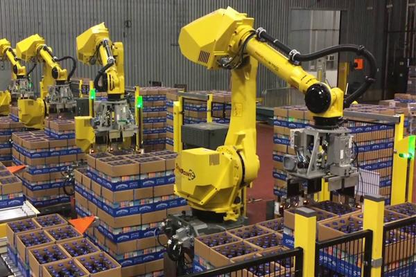 роботы на производство Fanuc
