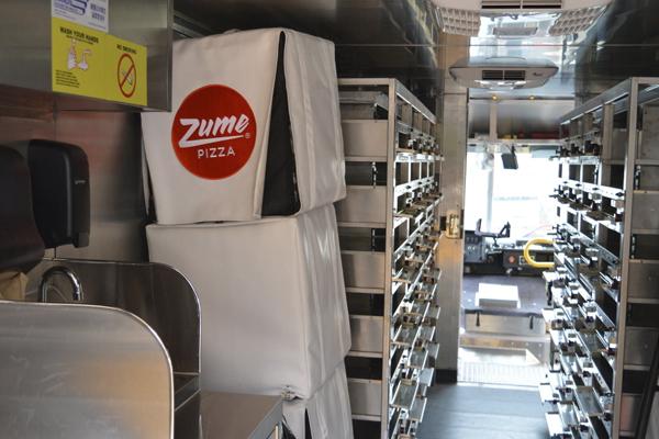 Zume-Pizza пицца на колесах