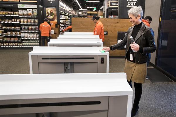 шопинг в Amazon Go