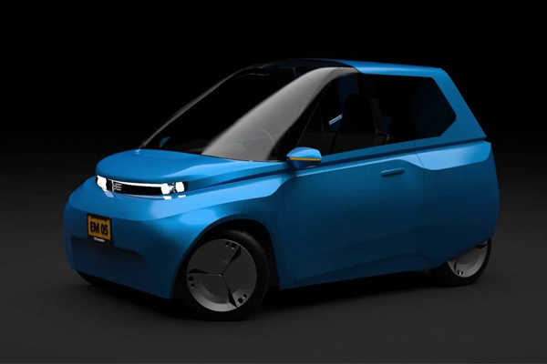 Биокомпозитный автомобиль Noah - концепт от Ecomotive