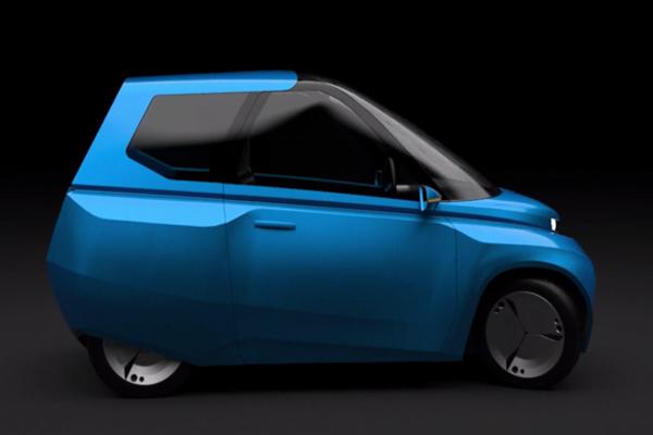 Биокомпозитный автомобиль Noah