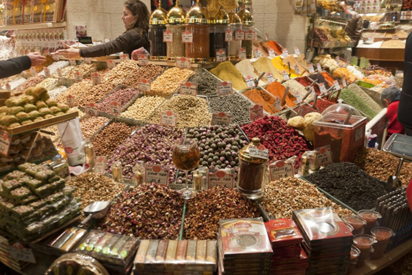 Большой Базар в Турции