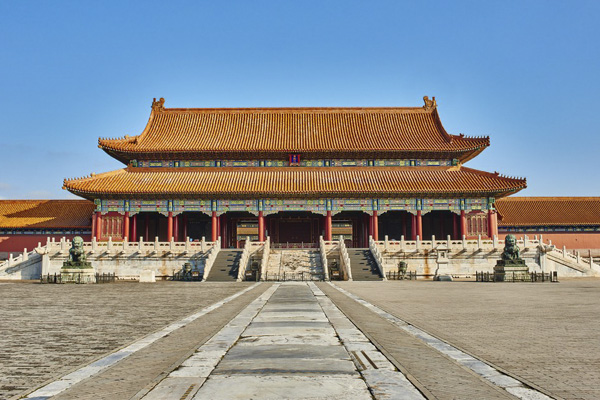 Запретный город в Пекине фотография