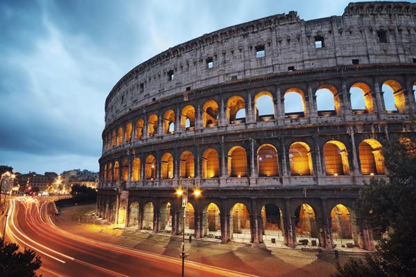 Колизей, Италия - ночь