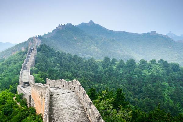 пейзажи Великой Китайской стены