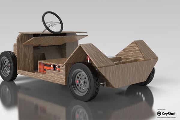 экологический автомобиль Noah