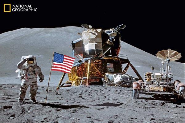 Аполло 12 фотография National geographic