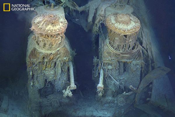 Титаник фотографии от National Geographic