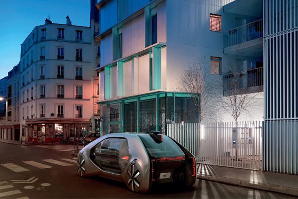 беспилотное такси от Renault