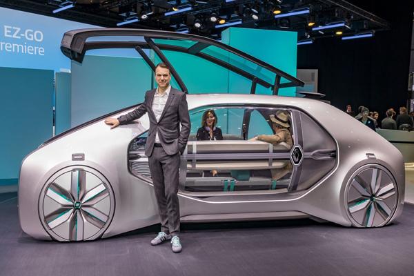 транспорт будущего от Renault