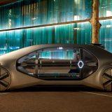 Футуристическое беспилотное такси Renault EZ-GO