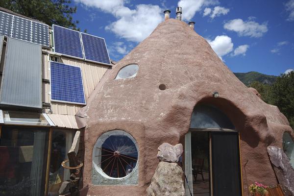 дом из глины - экопоселение