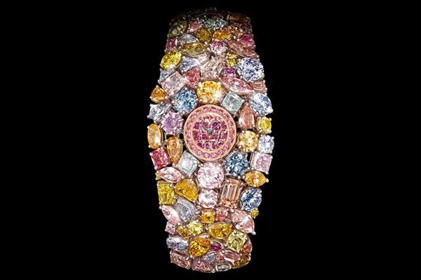 дорогие наручные часы 201-Carat Chopard