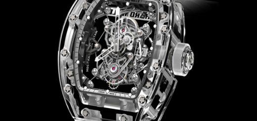 дорогие наручные часы Richard Mille Tourbillon RM 56-02 Sapphire