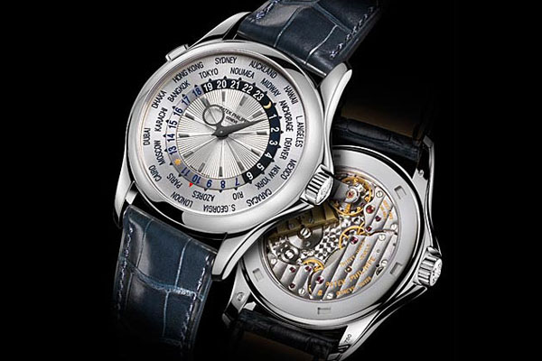 наручные часы Patek Philippe Platinum World Time