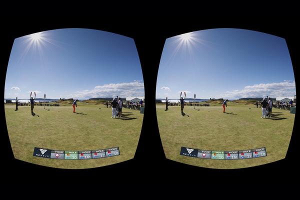 платформа виртуальной реальности NextVR