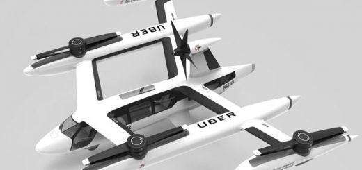 Uber летающие такси