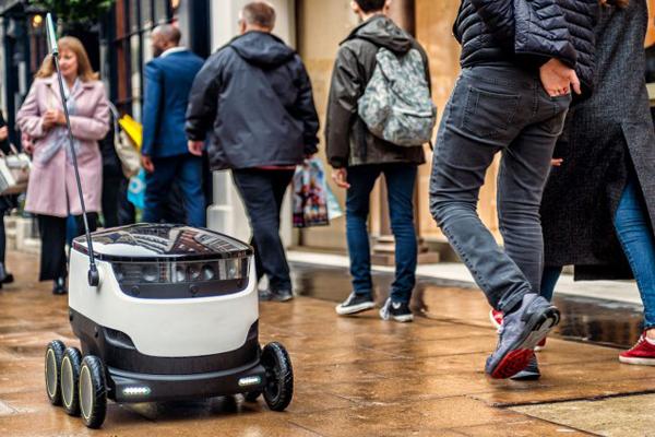 Робот-курьер от Starship Technologies