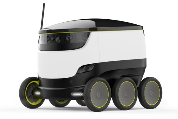 Робот-курьер Starship: доставка еды и не только