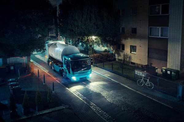 Электрический мусоровоз Volvo FE Electric