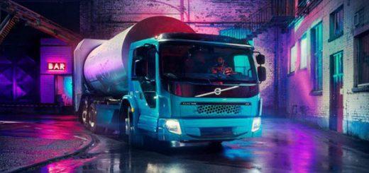 полностью электрический мусоровоз Volvo FE Electric