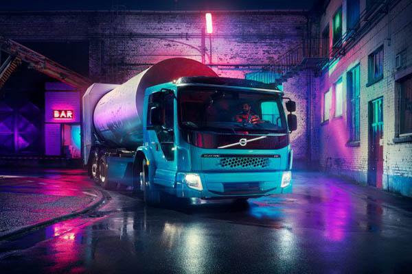 Электрический мусоровоз от Volvo FE Electric