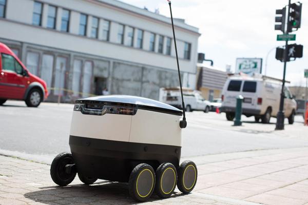 Starship - робот для доставки
