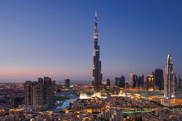 Бурдж-Халифа Дубаи