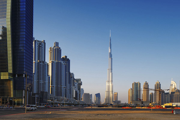 Бурдж-Халифа в Объединенных Арабских Эмиратах