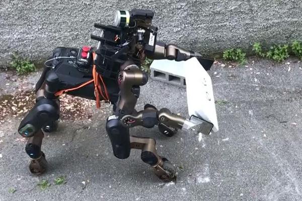 Робот — кентавр поможет в ликвидации стихийных бедствий