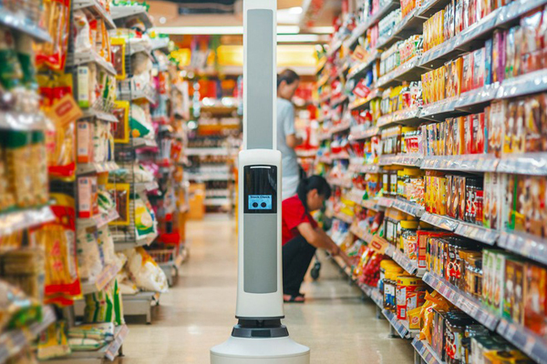 робот сканер от Walmart