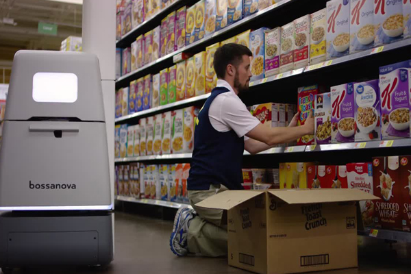 робот сканер Bossa Nova