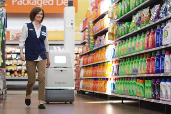 Новый сотрудник Walmart – робот-сканер