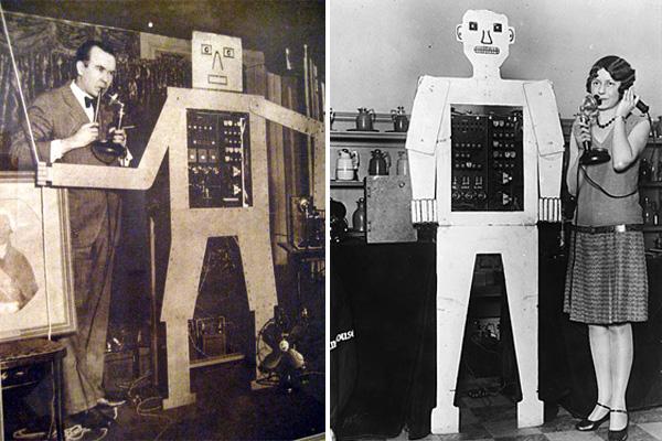 Великий робототехник Рой Уэнсли - конструкция Герберт Телевокс